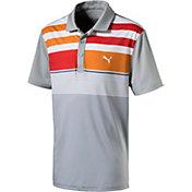 PUMA Boys' Road Map Asym Jr. Golf Polo
