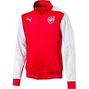 PUMA Men's Arsenal T7 Red Full Zip Jacket