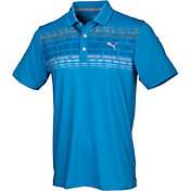 PUMA Men's Variable Stripe Golf Polo