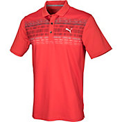 PUMA Men's Variable Stripe Golf Polo