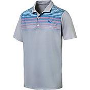 PUMA Men's Sportstyle Road Map Golf Polo