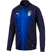 PUMA Men's Italy Blue Full-Zip Jacket