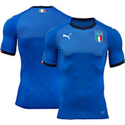 PUMA Men's Italy 17/18 Replica Home Stadium Jersey
