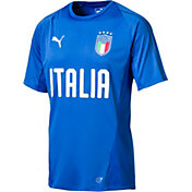 PUMA Men's Italy Blue Training T-Shirt