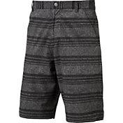 PUMA Men's Stretch Heather Stripe Golf Shorts