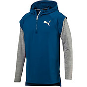 Puma Men's Tech Fleece 1/4 Zip Hoodie