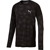 Puma Men's evoKNIT Camo Long Sleeve Shirt