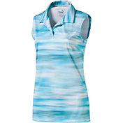PUMA Women's Uncamo Sleeveless Golf Polo