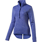Puma Women's Nocturnal 1/4 Zip Long Sleeve Shirt
