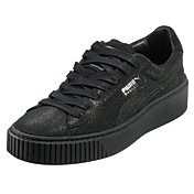 PUMA Women's Basket Platform Reset Casual Shoes