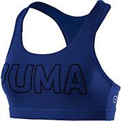 Puma Women's Kylie Jenner Powershape Forever Logo Sports Bra
