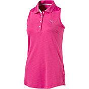 PUMA Women's Racerback Golf Polo