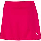 PUMA Women's Solid Knit Golf Skort