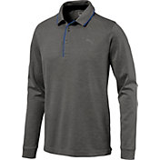 PUMA Men's Tailored Long Sleeve Golf Polo