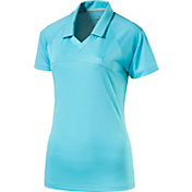 PUMA Women's Mesh Golf Polo