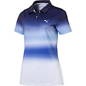 PUMA Women's Tie Dye Golf Polo