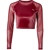 Puma Women's Explosive Velvet Crop Top