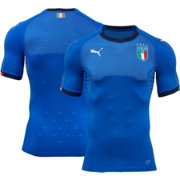 PUMA Youth Italy 17/18 Replica Home Stadium Jersey