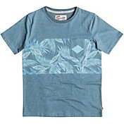 Quiksilver Boys' Faded Time Pocket T-Shirt