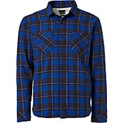 Quiksilver Men's Sherpa Flannel Long Sleeve Shirt
