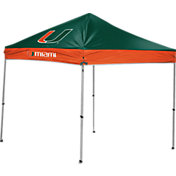 Rawlings Miami Hurricanes 9' x 9' Sideline Canopy Tent