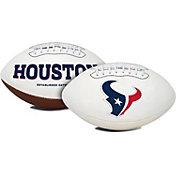 Rawlings Houston Texans Signature Series Full-Size Football