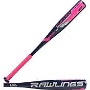Rawlings Girls' Quatro T-Ball Bat 2018 (-13)