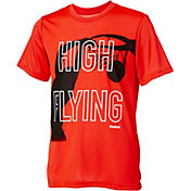 Reebok Boys' High Flying Graphic Basketball T-Shirt