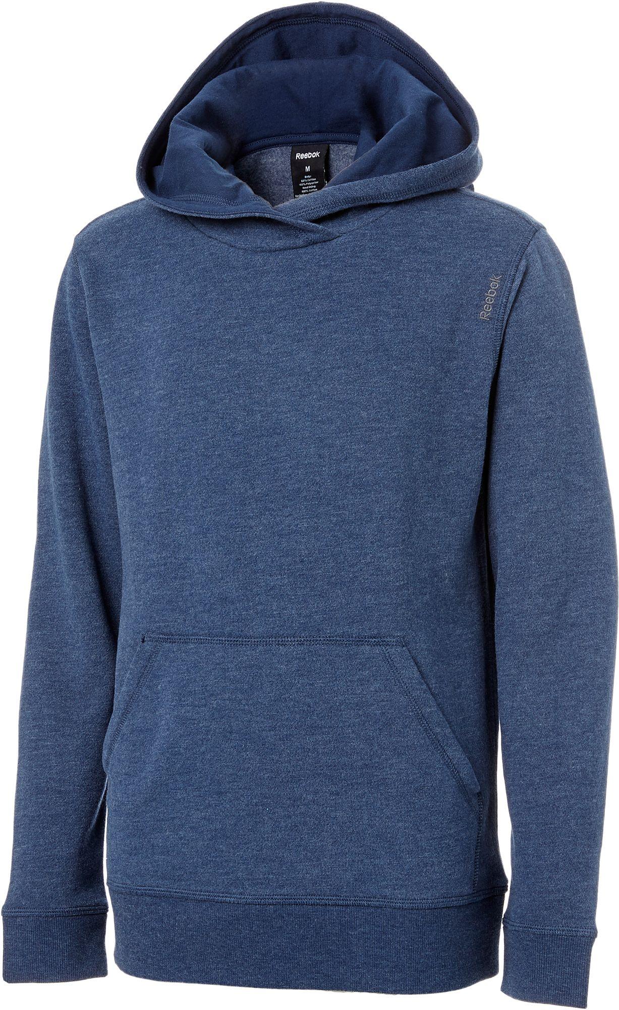 Product Image Reebok Boys' Cotton Fleece Heather Hoodie