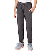 Reebok Girls' 24/7 Jersey Track Pants