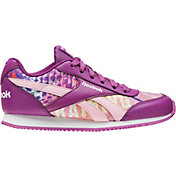 Reebok Kids' Grade School Classic Nylon Print Casual Shoes