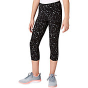 Reebok Girls' Cotton Printed Capris