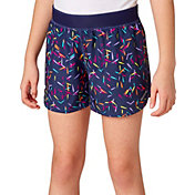 Reebok Girls' Printed Running Shorts
