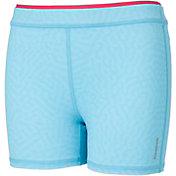 Reebok Girls' Warm Weather Embossed 3'' Shorts