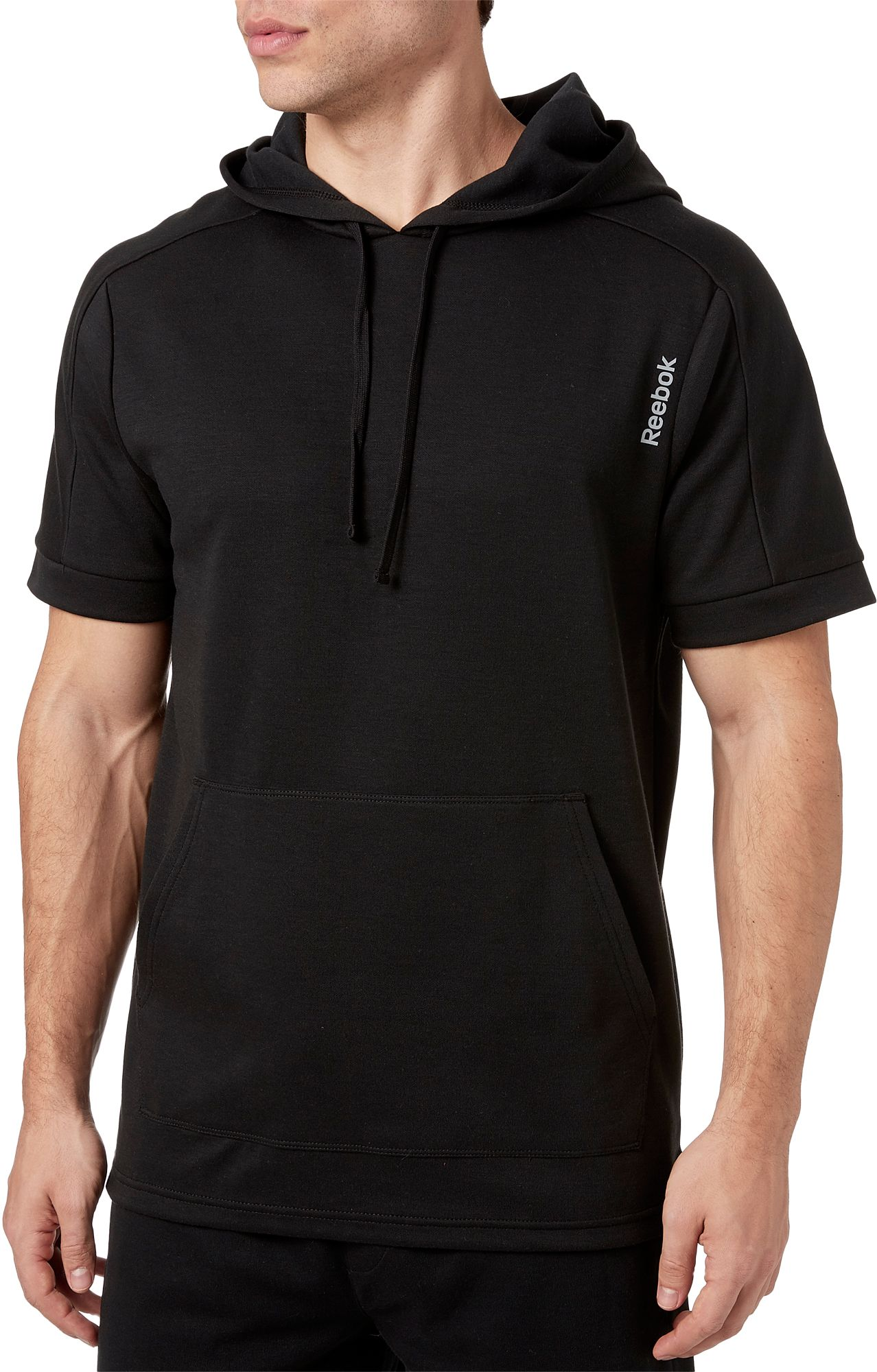 Reebok Men's Double Knit Short Sleeve Hoodie by Reebok