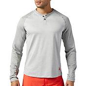 Reebok Men's X JJ Watt Henley Long Sleeve Shirt