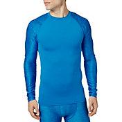 Reebok Men's Printed Compression Long Sleeve Shirt