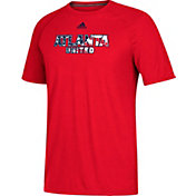 adidas Men's Atlanta United Patriotic Climalite Red T-Shirt