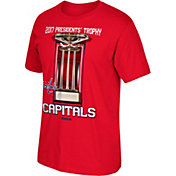 Reebok Men's 2017 NHL Stanley Cup Playoffs Presidents' Trophy Washington Capitals Red T-Shirt
