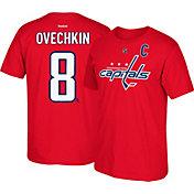 Reebok Men's Washington Capitals Alexander Ovechkin #8 Red Player T-Shirt