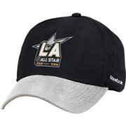 Reebok Men's 2017 NHL All Star Game Black/Grey Structured Adjustable Hat