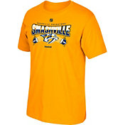 Reebok Men's Nashville Predators Smashville Gold T-Shirt