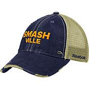 Reebok Men's Nashville Predators Mesh Trucker Adjustable Snapback Hat