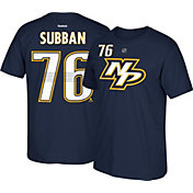 Reebok Men's Nashville Predators P.K. Subban #76 Navy Player T-Shirt