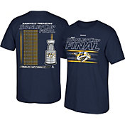 Reebok Men's 2017 NHL Stanley Cup Final Nashville Predators Line Roster T-Shirt