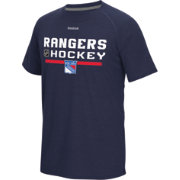 Reebok Men's New York Rangers Navy Center Ice Authentic Locker Room T-Shirt