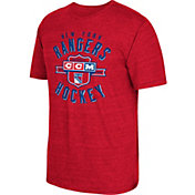 CCM Men's New York Rangers Tri-Blend Red T-Shirt