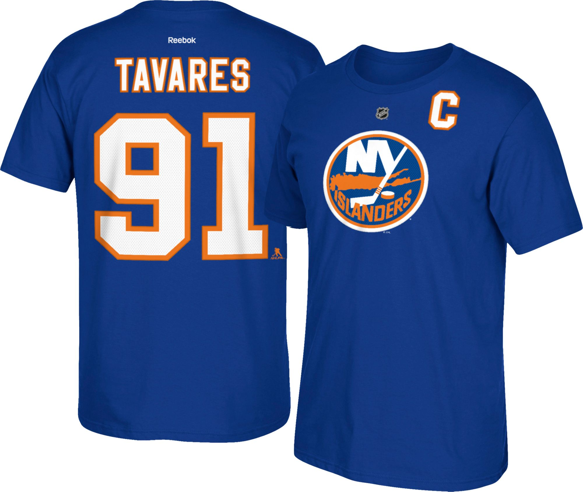 fd1718d3 ... Official Third Reebok Premier Replica NHL Reebok Mens New York  Islanders John Tavares 91 T-Shirt DICK ...