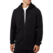 Reebok Men's Cotton Fleece Full Zip Hoodie