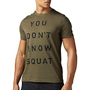 Reebok Men's You Don't Know Squat Graphic T-Shirt